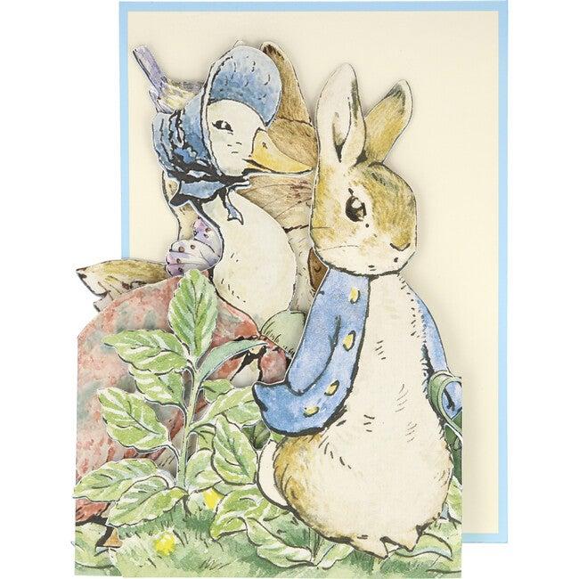 Peter Rabbit Concertina Card