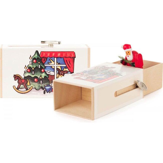 Santa Clause Surprise Music Box