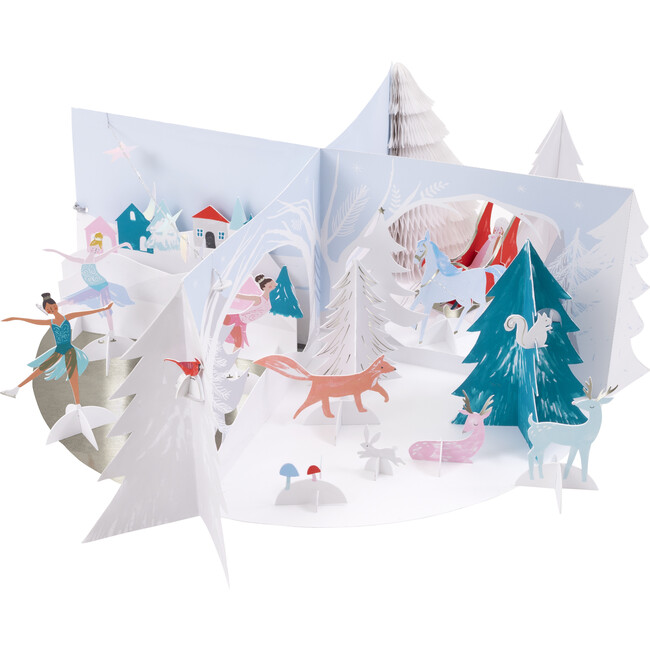 Winter Wonderland Paper Craft Advent Calendar