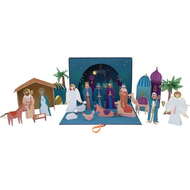 Nativity Paper Craft Advent Calendar