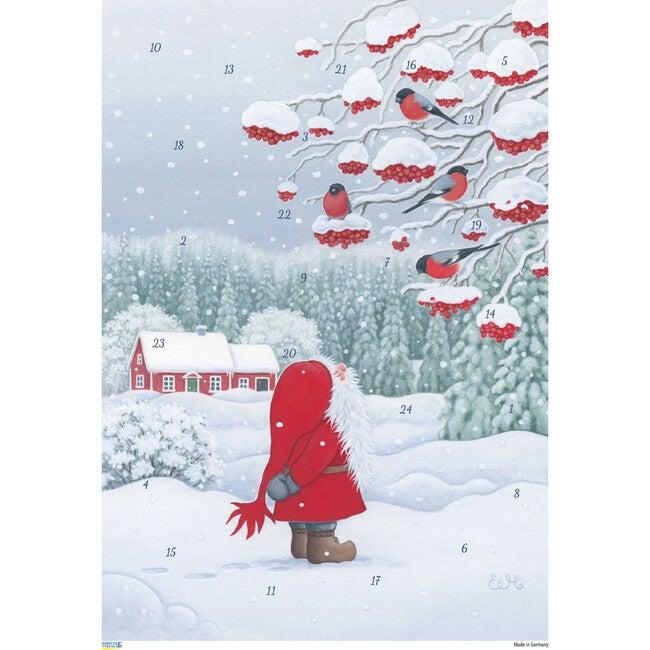 Tomte with Birds Advent Calendar - Advent Calendars - 1