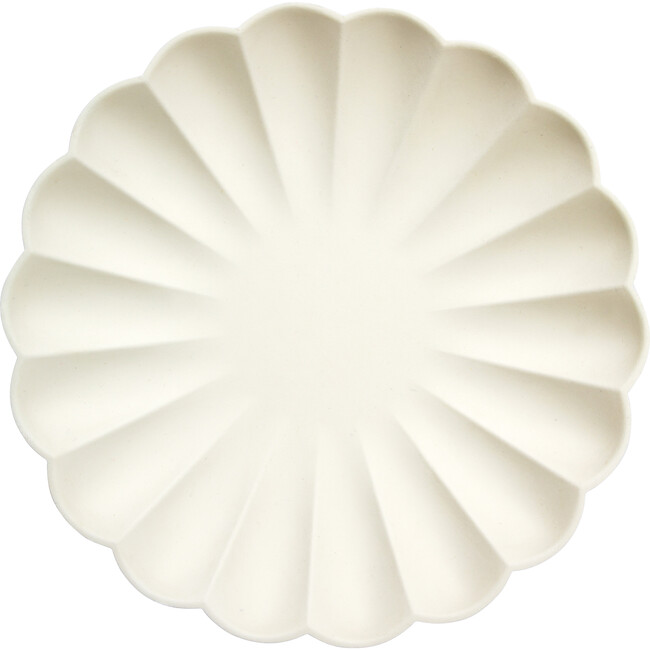 Simply Eco Dinner Plates, Cream