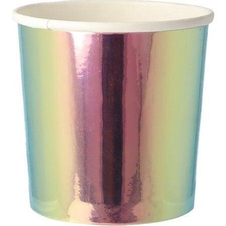 Oil Slick Tumbler Cups