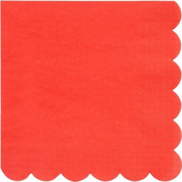 Red Large Napkins