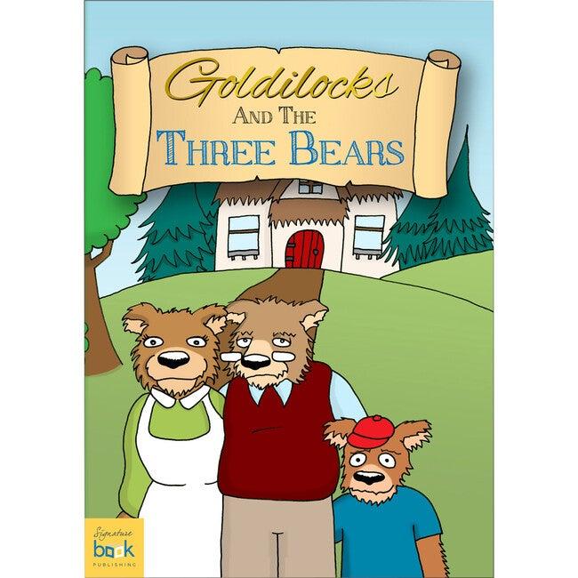Personalized Goldilocks Book, Softback