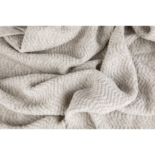 Wave Baby Blanket, Oat