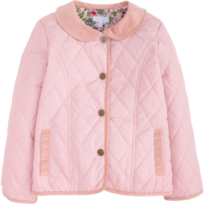 Classic Quilted Jacket, Dusty Pink