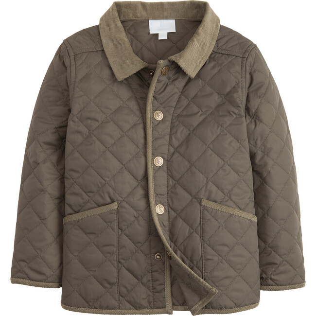 Classic Quilted Jacket, Olive