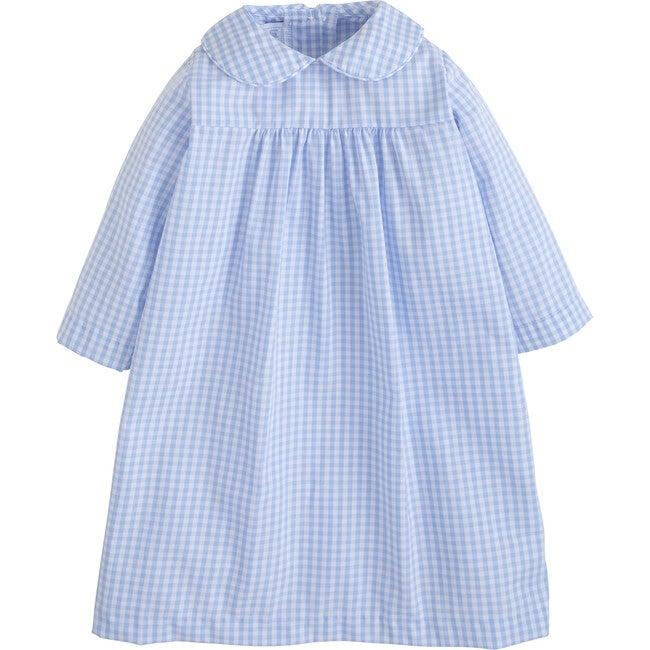 Dunn Dress, Airy Blue Plaid