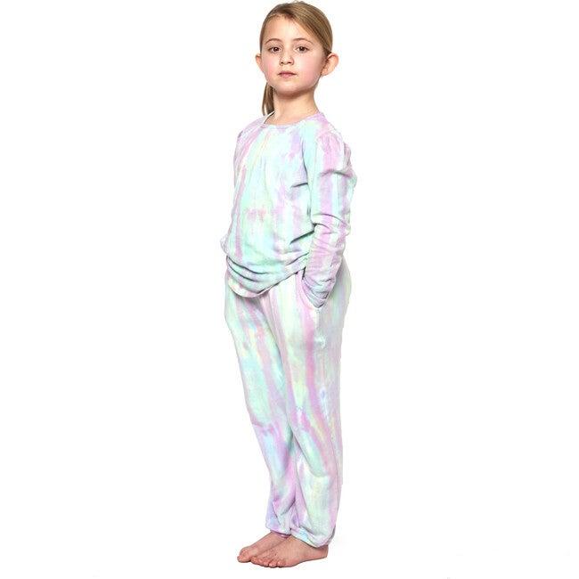 Rainbow Tie Dye Gym Sweats, Prism