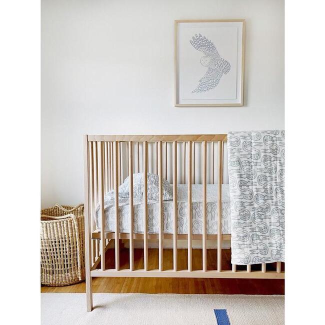 Alligator Baby Bedding Set, Bay Blue
