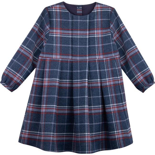 Dress, Yarinaoshi Checks - Dresses - 1