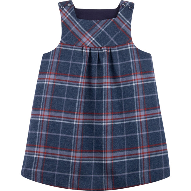 Kami Baby Pinafore Dress, Yarinaoshi Checks