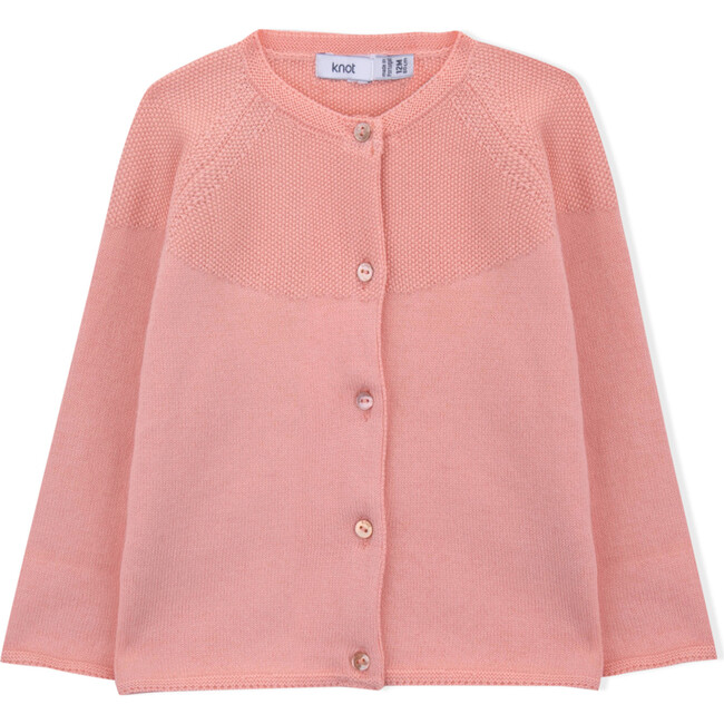 Holly Knitted Coat, Coral