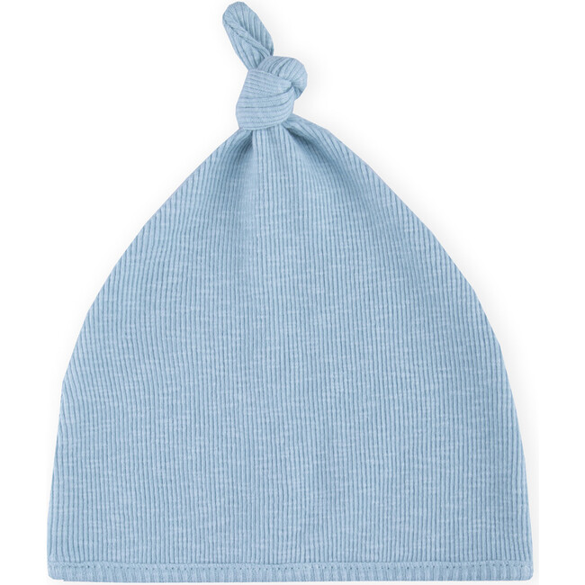 Knot Tricot Hat, Blue