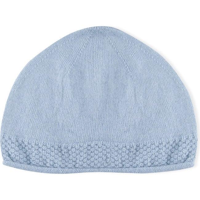 Aaron Tricot Hat, Blue - Hats - 1