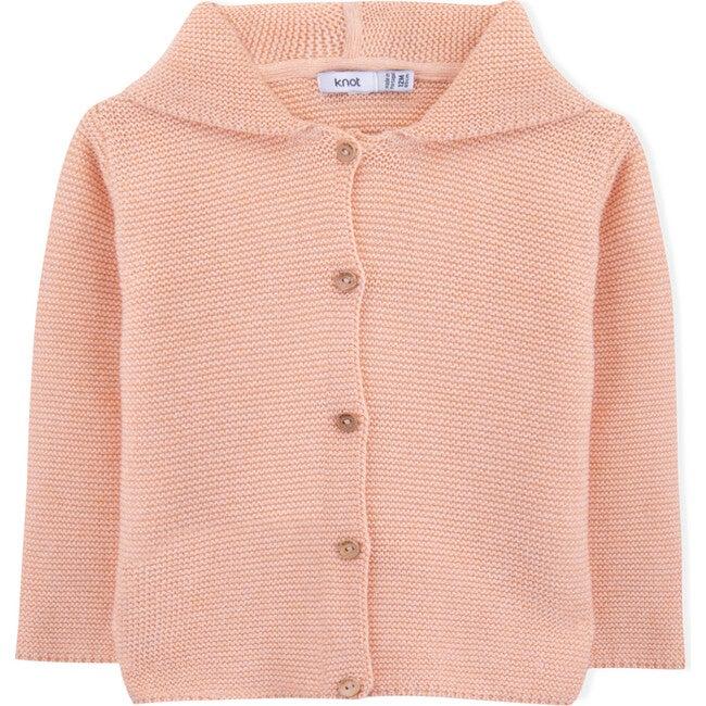 Sands Knitted Coat, Orange