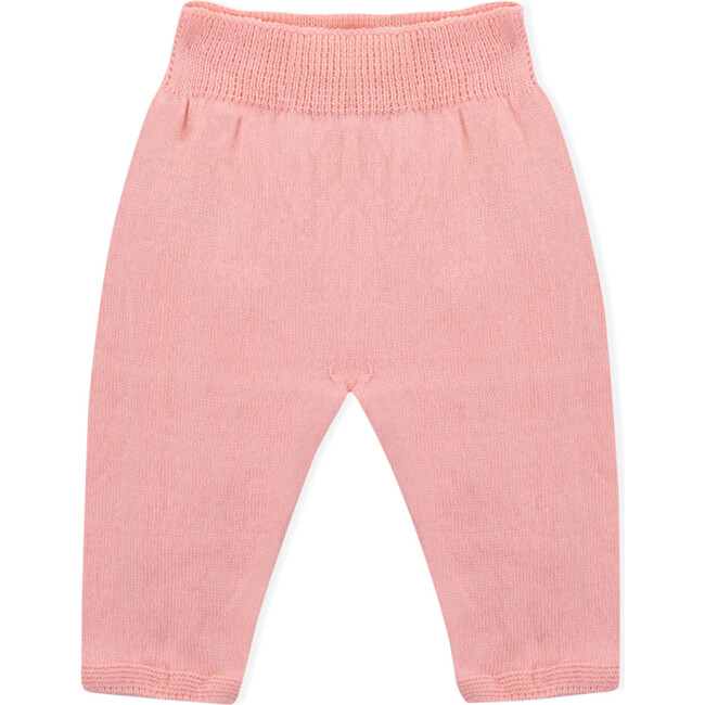 Shane Tricot Trousers, Pink - Pants - 1