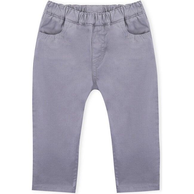 Dylan Twill Trousers, Dark Grey
