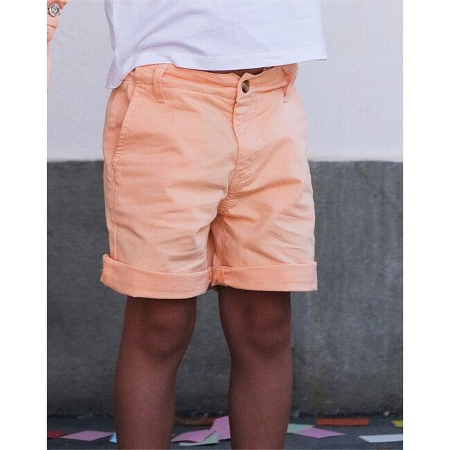 Francis Twill Shorts, Orange