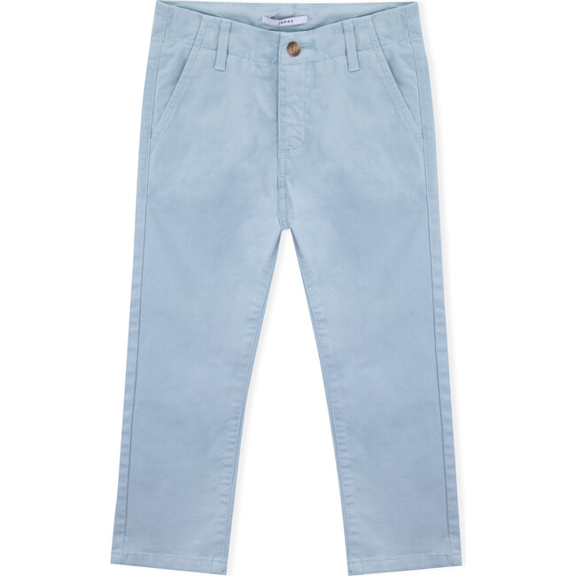 James Twill Trousers, Blue