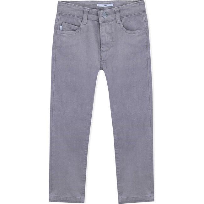 Jake Twill Trousers, Dark Grey