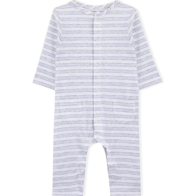Remy Babygrow, Grey Stripes