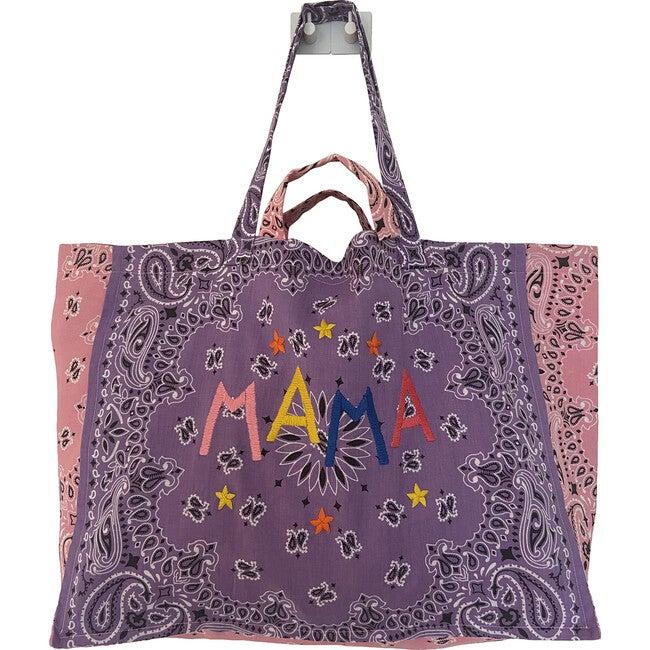 Maxi Mama Tote, Lilac & Pale Pink