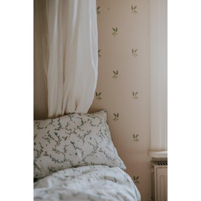 Secret Garden Toddler Pillow, Ivory