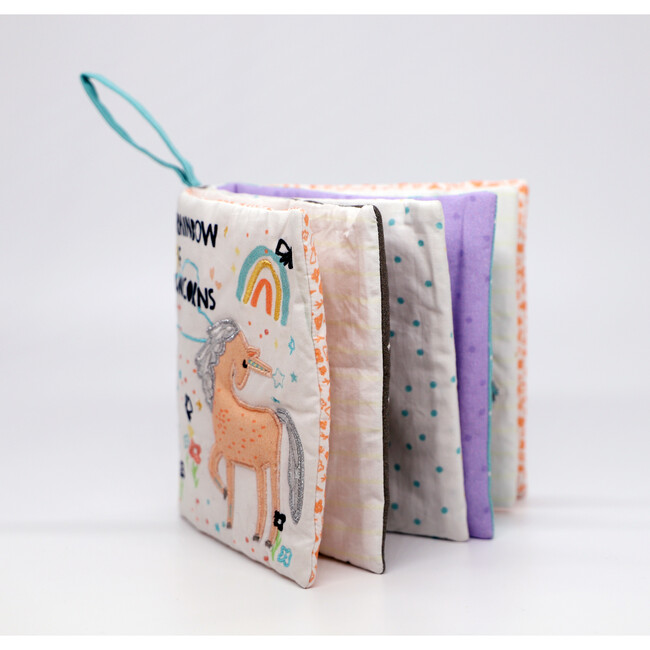 Rainbow of Unicorns Soft Book
