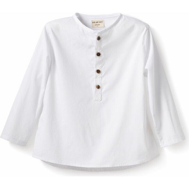 Nico Shirt, Poplin White