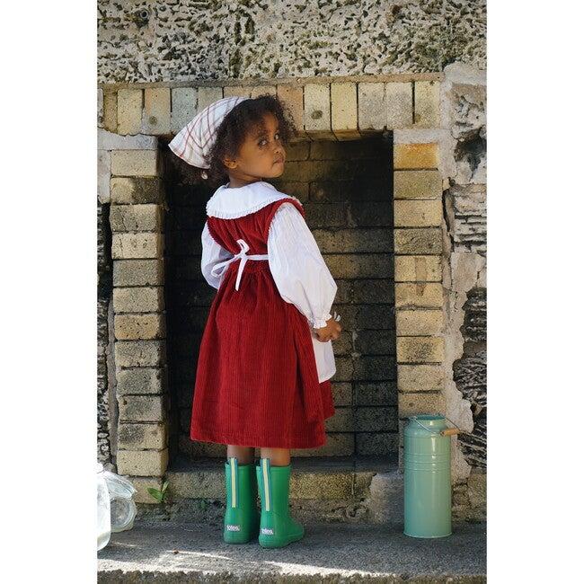 Julia Dress, Corduroy Brick