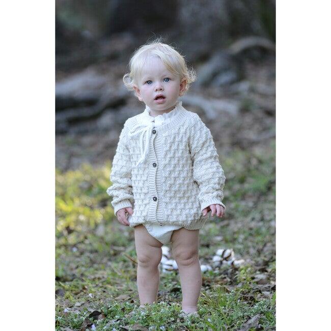 Alicia Knit Jacket, Cotton Natural