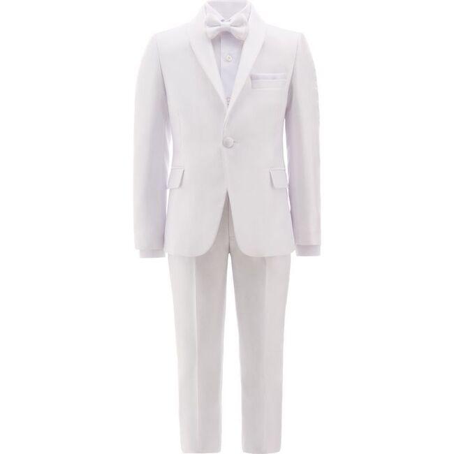 Shawl Lapel Suit, White