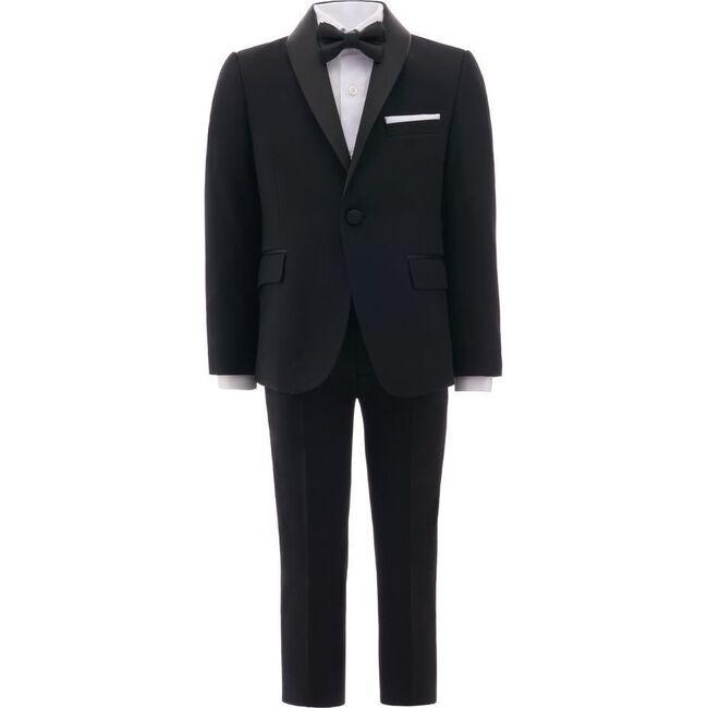 Shawl Lapel Suit, Black