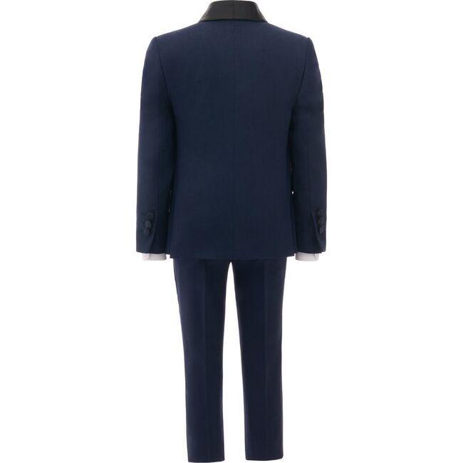 Shawl Lapel Suit, Navy