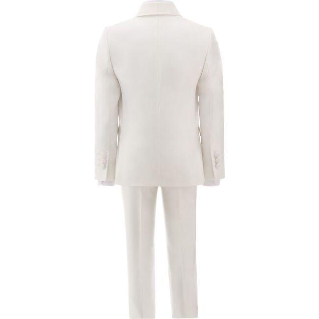 Shawl Lapel Suit, Cream