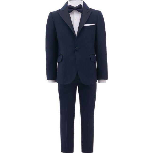 Peak Lapel Suit, Navy