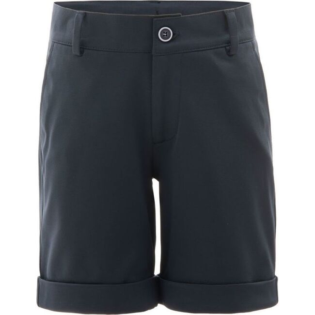 Athleisure Shorts, Navy