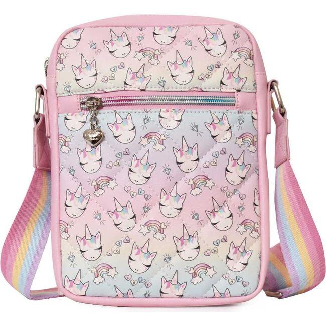 Miss Gwen Ombre Print Passport Bag, Pink