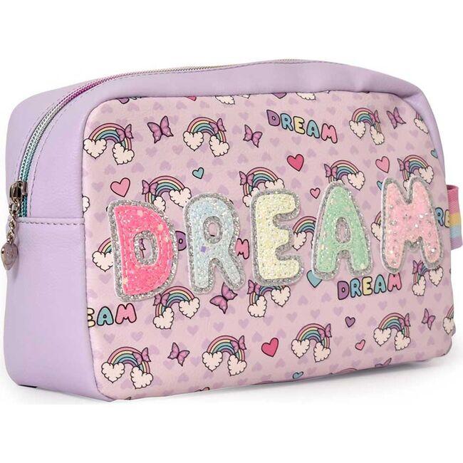 DREAM Rainbow Bright Print Pouch, Purple