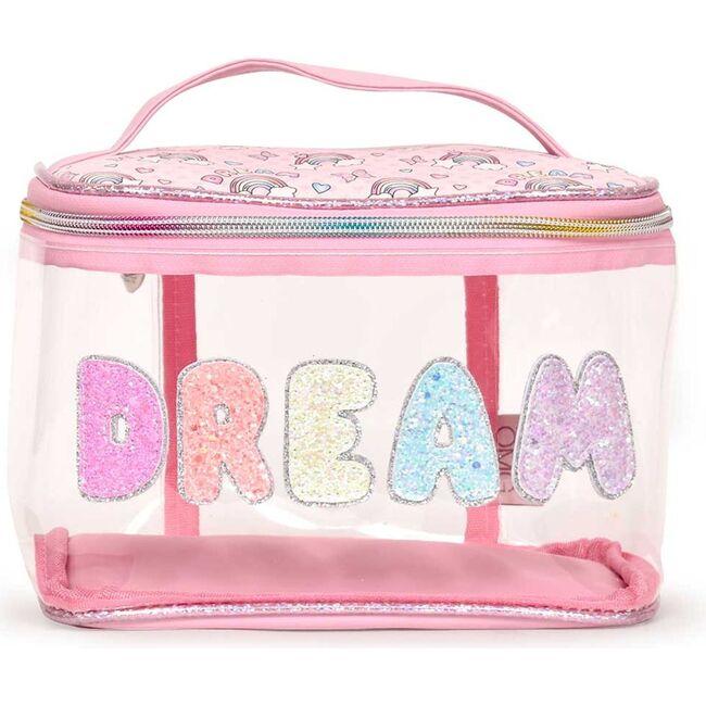 DREAM Clear Glam Bag, Pink