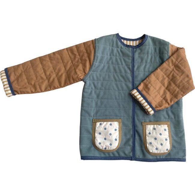 Winter Sprinkles Reversible Quilted Jacket, Multi