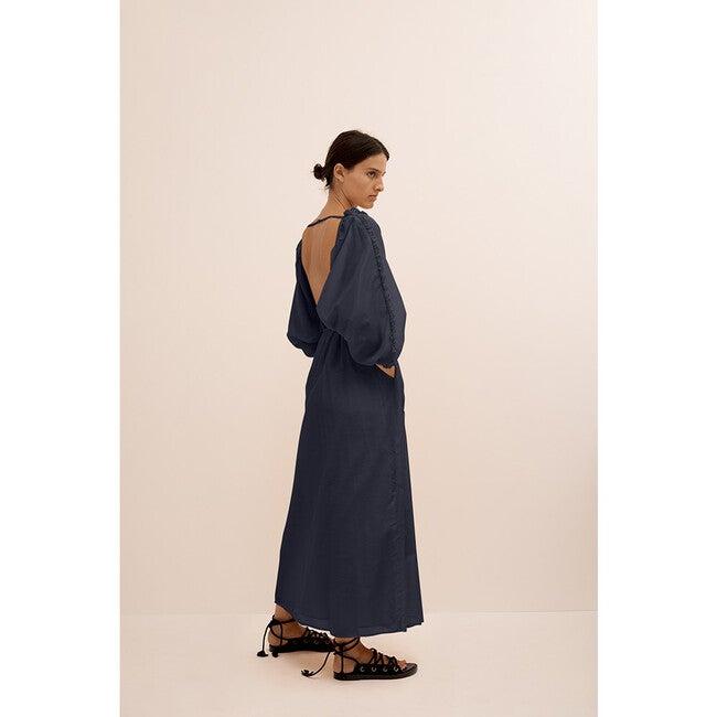 Women's Magdelene Maxi, Deep Blue