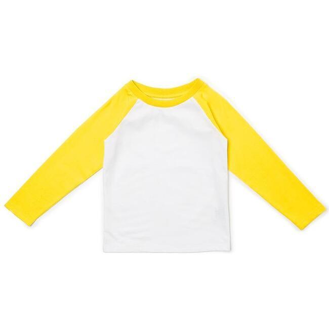Organic Baseball Top, Yellow