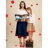 Petal Girls Skirt, Biscuit Brown - Skirts - 2