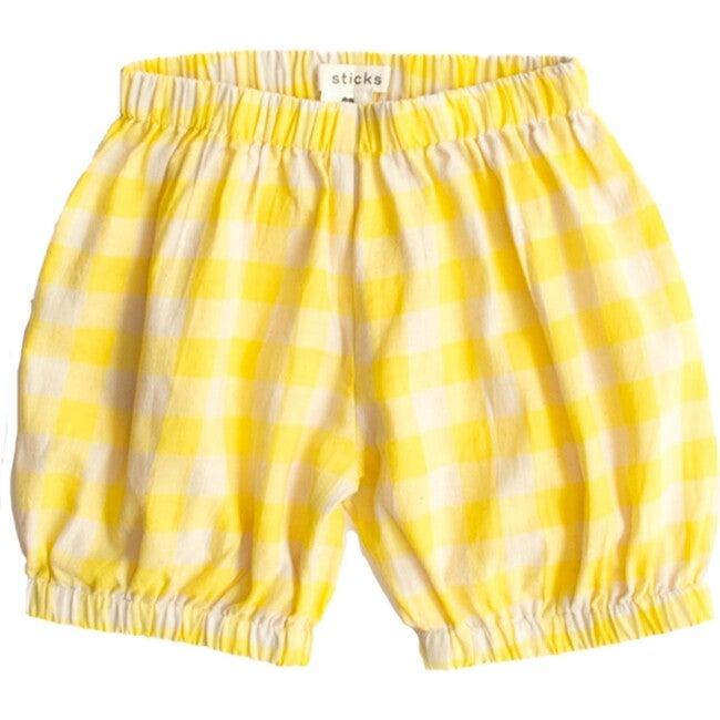 Gingham Bottoms, Yellow