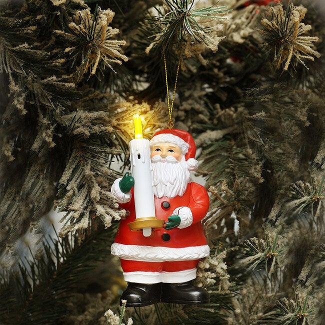Goodnight Lights Santa, Red