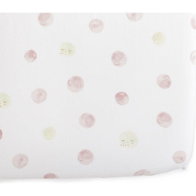 Luna Crib Sheet, Pink