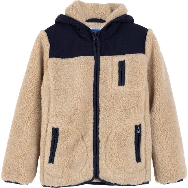 Banks Sherpa Front Jacket, Natural Multi